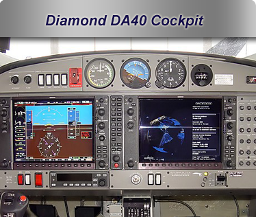 Airplane 2007 Diamond DA40 G1000 glass Cockpit